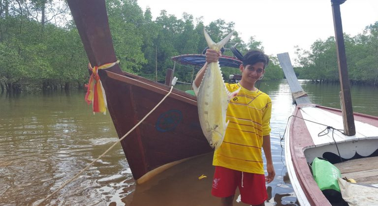 khao lak fishing