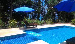 beach bungalows thailand pool