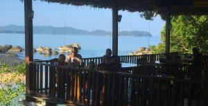 Beach front restaurant khao lak